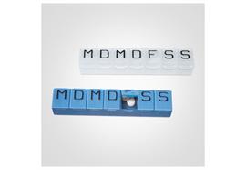 7-Tage-Tabletten-Box EasyLife blau