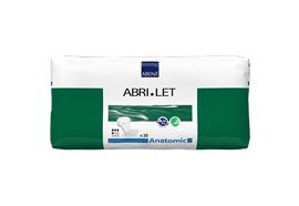 Abri-Let Anatomic Inkontinenzeinlage 20 Stk anatomisch geformte Vorlage 20x44 cm, 500 ml