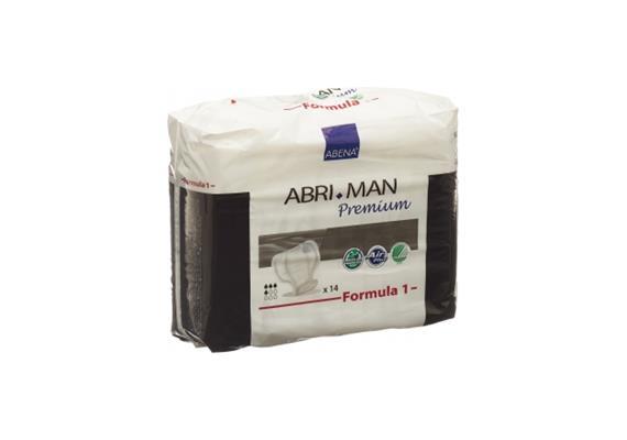 Abri-Man Premium Formula 1 / 15 Stk Einlagen, Masse 22x30 cm, Saugstärke 450 ml