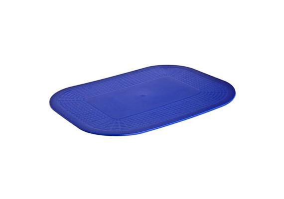 Antirutschunterlage Dycem 25x18cm blau, beidseitig rutschfest, aus Kunststoff, latexfrei