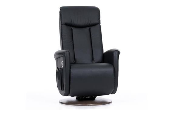 Aufstehsessel Topro Cortina 3-mot. PU-Bezug black (schwarz) 7906