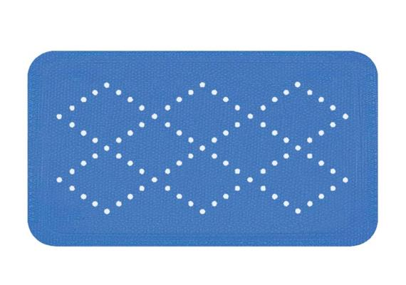 Badewannenmatte Alaska ELECTRIC BLUE 71x36