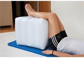 Bandscheiben-/Entspannungswürfel aufblasbar 40x45x50cm KS weiss(Stufenlagerungswürfel)