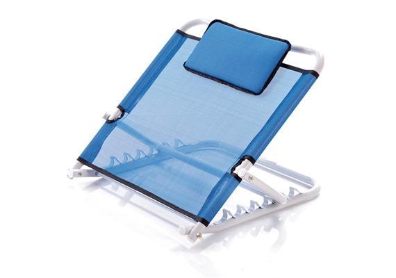 Bett-Rückenstütze verstellbar blau