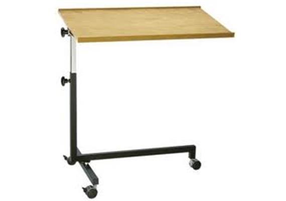 Bett-Tisch 1-teilige Tischplatte Trigo 2018 3-Fussgestell m. Bremse, 20 Kg belastbar