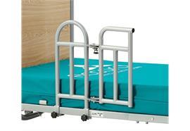 Bettgriff mit drehbarem Gitter zu Pflegebett FloorBed