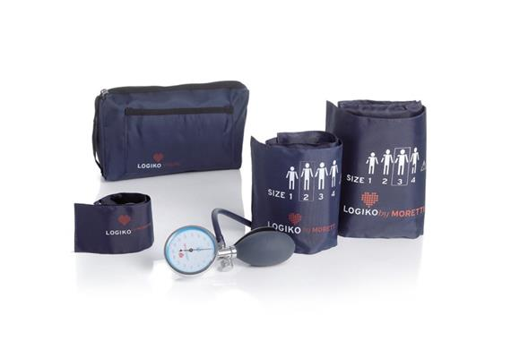 Blutdruckgerät LogikoVisual (man.) mit 3 Manschetten+Tasche