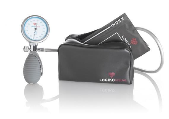 Blutdruckgerät LogikoVisual (man.) mit Tasche