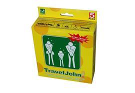 Brechbeutel TravelJohn 5er Pack auslaufsicher und geruchsneutralisierend