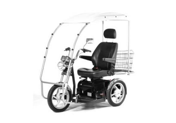 Dach zu Elektromobil Sportrider