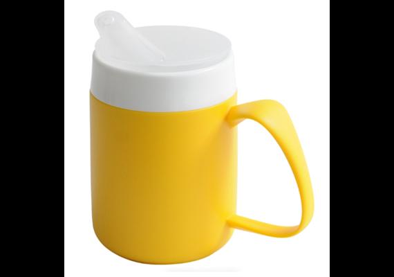 """Deckel / Trinkbecher-Aufsatz Ornamin """"Standard"""" 806 für Getränke zu Thermo-Becher transp."""