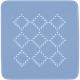 Duschmatte Alaska BERMUDA 55x55