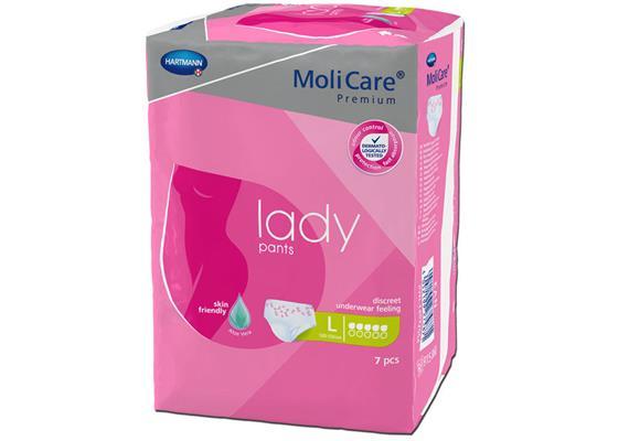 Einwegpants Molicare Lady Pants 5 Tropfen L 7 Stück