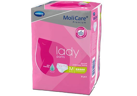 Einwegpants Molicare Lady Pants 5 Tropfen M 8 Stück