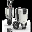Elektromobil ATTO Easy, faltbar 6 km/h, 48V Lithium-Ionen Akku | Bild 3