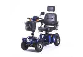 Elektromobil Bility S Blau 750W, Batterie 50Ah CH-Getriebe