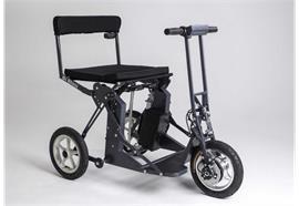 Elektromobil Foldy RS30 anthrazit inkl. Akku, bis 100kg belastbar, max Steigung 6° (10,5%)