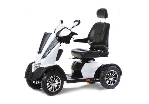 Elektromobil Maximo S Weiss 1300W, Batterie 75Ah
