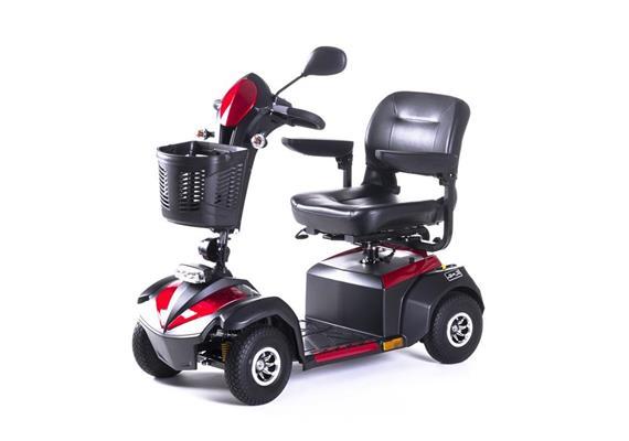 Elektromobil Nireto S Rot 470W/10km/h, Batterie 36Ah