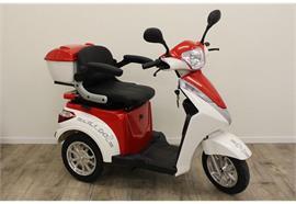 Elektromobil VentiTre rot/weiss 20 km/h, 48V 20Ah. Reichweite ca 40km, Zuladung 110kg