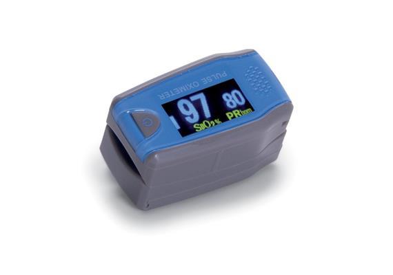 Fingerpulsoximeter Kinder 2-8j. Messung von Sauerstoffsättigung und Herzfrequenz(Oxymeter)
