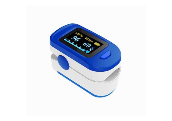 Fingerpulsoximeter Sauerstoffsättigung- und Herzfrequenzmesser mit OLED Display