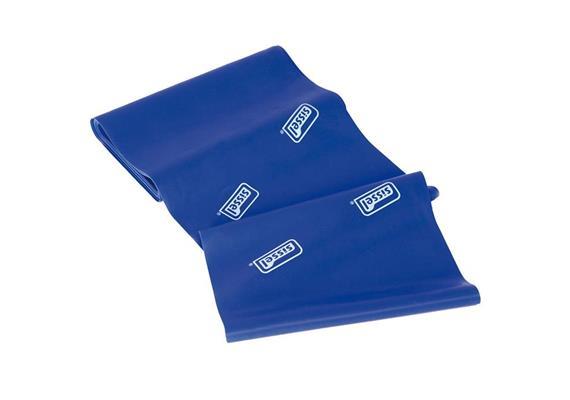 Fitband blau (extra stark) 5mx14.5cm, allergenreduziertes Naturlatex