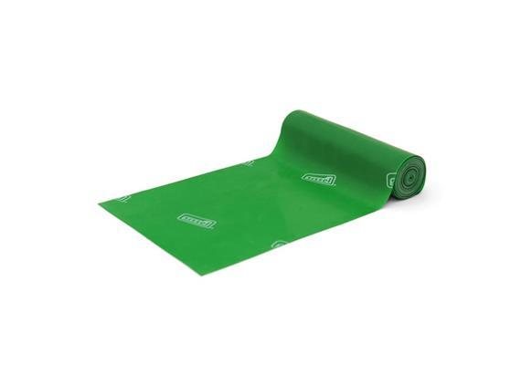 Fitband grün (stark) 25m x14.5cm, allergenreduziertes Naturlatex