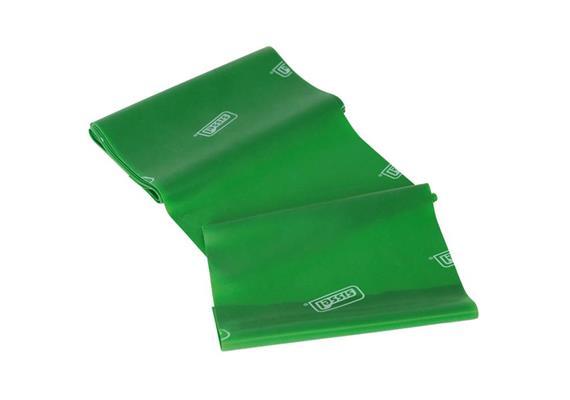 Fitband grün (stark) 5mx14.5cm, allergenreduziertes Naturlatex inkl. Kurzübungsanleitung