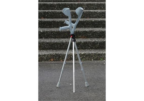 Gehstock-Ständer 3-Bein (Stehhilfe für Gehstöcke, Gehhilfenzubehör komplett)