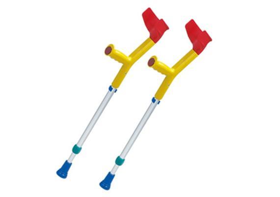 Gehstöcke Kinder gelb/rot/blau mit Ergo-Griff 50-72cm (Kowsky)