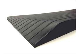 Gummirampe Light 26x1100x210mm (HxBxL) (5kg) schwarz