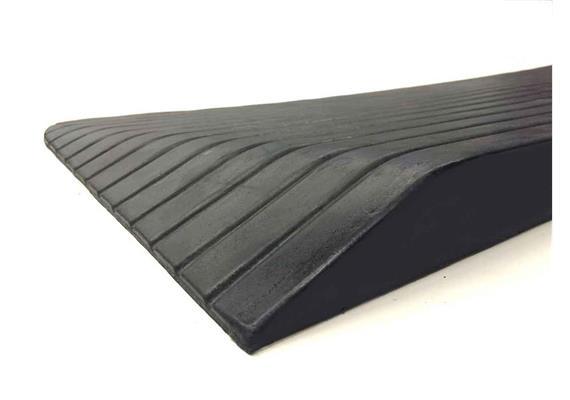 Gummirampe Light 90x900x535mm (HxBxL) (19kg) schwarz