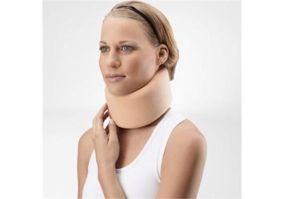 Halskragen Cervilastic 6,5cm Cervicalstütze beige, anatomische Länge 56 cm, für Tag&Nacht