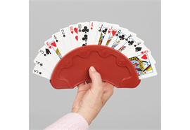 Jasskartenhalter rot 200 x 100 mm