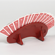 Jasskartenhalter rot 200x100mm | Bild 2