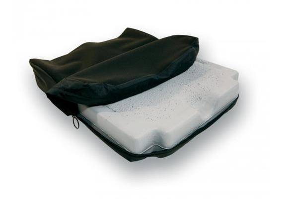 JAY Easy Visco Rollstuhlkissen curved 48x50cm
