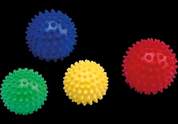 Massage-Igelball Blau 10 cm