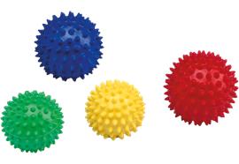 Massage-Igelball Rot 9cm