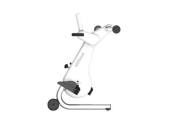 Motomed loop light.la Beintrainer inkl. Arm-und Oberkörpertrainer, weiss-chrom-schwarz