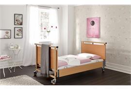 Pflegebett Mega 120x200, Arbeitslast 250 kg, inkl. Seitengitter