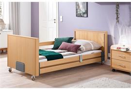 Pflegebett Standard DLB Tief 90x200cm, Einstieg 23cm, Arbeitslast 185kg