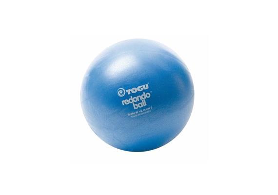 Redondo Ball 22cm blau, Belastbarkeit bei Übungen im Liegen ca. 120 kg, inkl. Übungsbeisp.