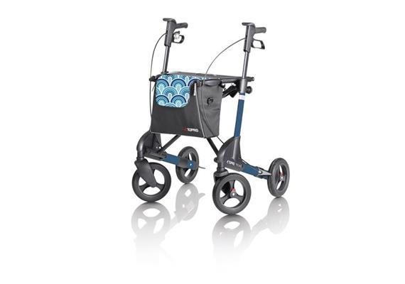 """Rollator Topro Troja 2G Premium """"M"""" capri blau"""