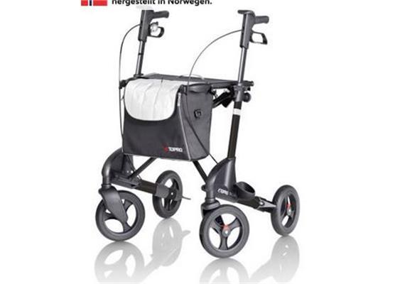 "Rollator Topro Troja 2G Premium ""M"" matt black (schwarz)"