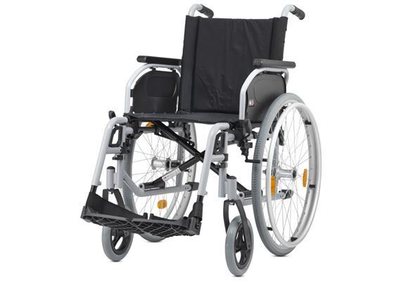 Rollstuhl Pyro Start SB49TB (Standard Leichtgewichtrollstuhl mit Trommelbremse)