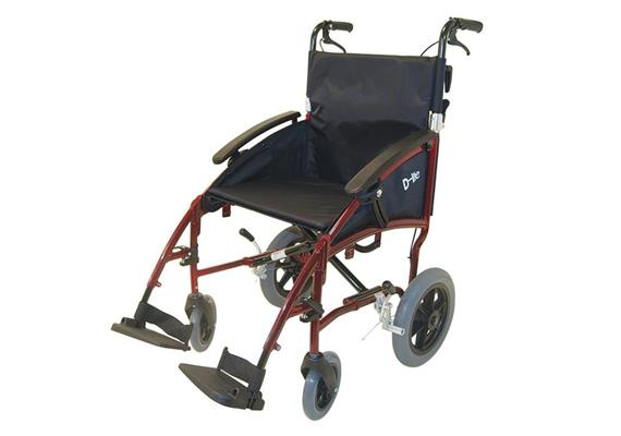 "Rollstuhl Transit D-Lite 12,5"" SB45 inkl. Begleitbremse"