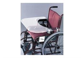 Rollstuhltisch Universal-Therapietisch mit 4 exzentrisch verstellbaren Haltern