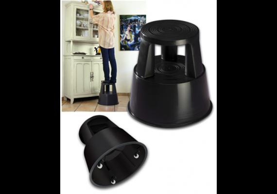Rolltritt WEDO schwarz belastbar bis 150kg/2,8kg