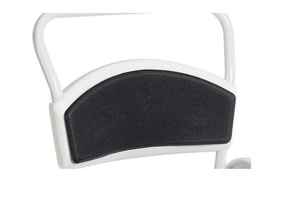 Rückenpolster grau zu Dusch-/Toilettenstuhl Clean